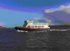 Picture of Ferry designed by Jonathan Graham Marine Surveys Millbrook Cornwall